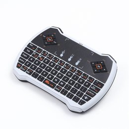 air touch tastatur usb Rabatt 2,4 GHz Wireless Game Type Air Maus Mini Tastatur mit Touch Pad USB Empfänger