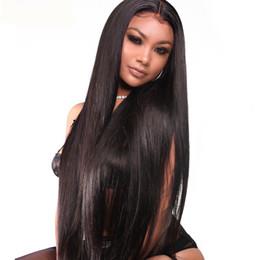 360 encaje frontal pelucas pre arrancadas con el pelo del bebé recto  peruano Remy cabello humano encaje frente pelucas para mujeres negras 10-24  pulgadas ... 058f94d545c6