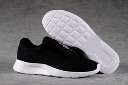 Wholesale Mens Leather Walking Shoes - Top Quality London Olympic Tanjun 3.0 2.0 Black White Mens Womens Running Shoes Casual Trainer Lightweight Breathable Walking Hiking Shoes