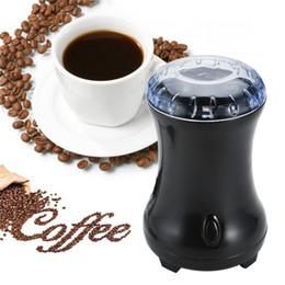 Smerigliatrice di fagioli online-Mini Electric Coffee Spice Grinder Maker Beans Herbs Nuts Lame in acciaio inox