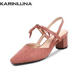 2c922444c Atacado Marca Plus Size 32-44 Moda Dedo Apontado Sandália Sapatos de Verão  Mulheres Moda Senhora Do Partido Calçado Sapatos Mulher