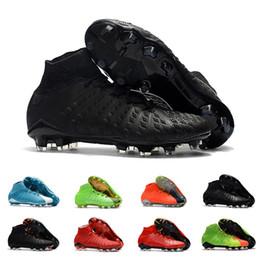 Дешевые гипервеномные утки онлайн-Дешевые мужские лучшее качество лодыжки FG футбольные бутсы Hypervenom Phantom III DF футбольные бутсы Neymar IC футбольные бутсы бутсы мужская футбольная обувь