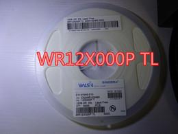 100pcs / lot nuovo Resistenza WR12X000P TL WALSIN 1206 0R 5% senza piombo nel trasporto libero di riserva da