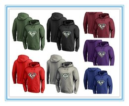 Wholesale Full Superman - Hot Sales Men's Winter Packer Fans Hoodies, New Design Greens Bay Sweatshirts Superman S Logo Picture Print Fashion Tops O-neck Pullovers