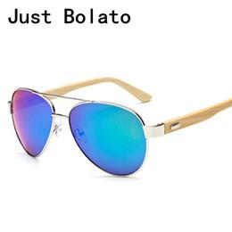 378e67ce64c30 New 2018 Pliot Madeira Mulheres Óculos De Sol Da Marca De Luxo Homens De Bambu  Óculos De Sol Da Aviação Espelho Retro Lens Grande Quadro 62mm Oversize  UV400