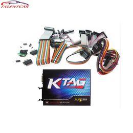 lector de código clave hyundai Rebajas KTAG K-TAG ECU Herramienta de programación Actualización Software de reparación Programador clave Envío gratis