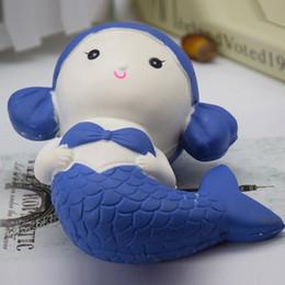 Wholesale Resin Foam - Resin new PU animal mermaid slow rebound PU toys mermaid PU foam figures