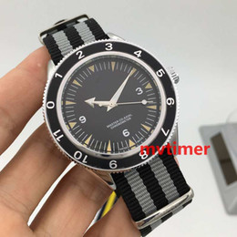 Wholesale Nato Straps - Luxury Brand Men's Wristwatches James Bond 007 300 Master Co-Axial 41mm Quartz NATO Strap mens Watches Limited Edition Sports Watch