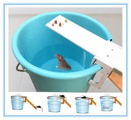 Ratos de armadilha on-line-Reutilizável Mousetrap Rat Trap Auto Repor Catching mouse Gangorra Bait da armadilha do rato assassino Rodent Armadilha