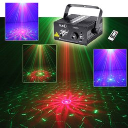 2019 luci blu del partito del laser SUNY Z40RG 3 Lens 40 Patterns Xmas Red Green Laser Blu chiaro LED DJ Disco KTV Vacanze Home Stage Ambience Proiettore decorativo Musica Party sconti luci blu del partito del laser