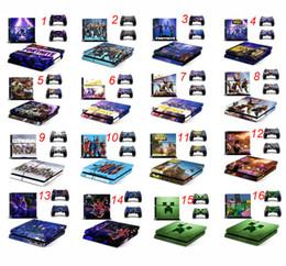 набор игровых приставок Скидка Игра Fortnite наклейка для Sony PlayStation 4 консоли кожи PS4 контроллер наклейки крепость ночь 3 шт. / компл. мультфильм контроллер протекторы