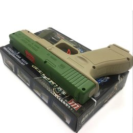 Wholesale Gift Cans - New Children's Plastic BB Water Cannon Gun Boy Toys Can Launch About 18 Meters Boy Festival Christmas New Year's Birthday Gift