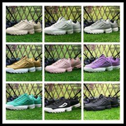 Wholesale generation shoes - Epacket men filas DISRUPTORS 2 running shoes for women good for health lovers Sneakers euro the 2 generation of destroyers shoes EU 36-42