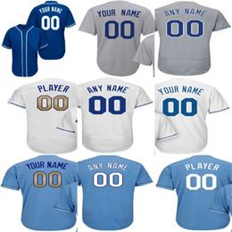 Wholesale Cool Cities - Newest-Mens Womens Kids Custom KANSAS CITY White Gold Program Flex Base Baseball Jerseys Custom Any name any NO. Cool Base Jerseys