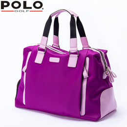 Wholesale Carry Golf Bags - Polo Bag Lady Clothing with Shoe Bag Women Shoulder  Hand Carry  Messenger Large Capacity Light Travel Golf Waterproof Nylon