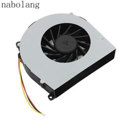 клево ноутбуки Скидка Nabolang 1шт новый ноутбук охлаждающий вентилятор для Clevo X511 X611 X711 X811 процессора вентилятор