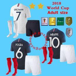 f68192beb5 kits france Desconto New 2018 World Cup camisas de futebol para adultos france  França 18 19