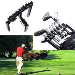 2019 tapete Titular do Clube de Ferro de golfe 9 Goft Rod Rack Apto para Qualquer Tamanho de Clubes de Golfe de Treinamento de Golfe Aids Acessórios Ao Ar Livre