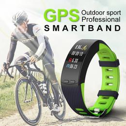 Wholesale Manufacturer Blackberry - New P5 intelligent bracelet GPS running outdoors cycling sports bracelet heart rate elevation of temperature measurement manufacturer direct