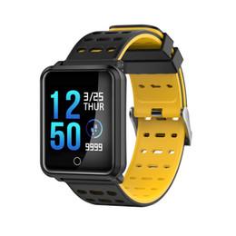 2019 relógio de esportes feminino à prova d'água N88 smart watch homens smartwatch mulheres à prova d 'água heart rate monitor de pressão arterial pulseira esporte faixa de fitness faixa de alarme oth914 relógio de esportes feminino à prova d'água barato