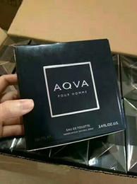2019 bouteilles de parfum en porcelaine 2018 NOUVELLE arrivée AOVA EDP parfum pour hommes 100 ml avec longue durée bonne odeur haute capactity de parfum Livraison gratuite