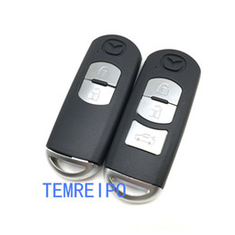 mazda smart Скидка 2 3 кнопки смарт дистанционного ключа оболочки для Mazda X-5/саммит / Axela / Atenza / M3 / M6