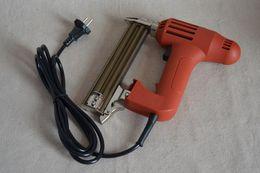 arma de móveis Desconto Nova 220 v 1750 W F30 Elétrica Nail Gun Grampeador Nailer Móveis ferramentas de unhas