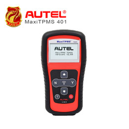 Wholesale Maxitpms Autel - Wholesale-Professional TPMS Diagnostic & Service Tool AUTEL MaxiTPMS TS401 Unparalleled Sensor Coverage Tire Pressure Sensor As like TS501