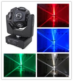 Wholesale Sharpy Beam - 2 pieces Professional 12x10W LED Mini Moving Head RGBW 4IN1 sharpy beam light LED beam football moving head light