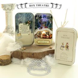 2019 miniature fantasy Fai da te Cute Room Handmade Box Teatro Foresta Theme Mini Novità Beautiful Dollhouse Scatole in miniatura per San Valentino Regali 23wm Z miniature fantasy economici