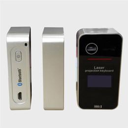 Laser virtual on-line-KB580 Sem Fio teclado Teclado de Projeção klavye Mouse Sem Fio Virtual Set para o iPhone teclado sem fio