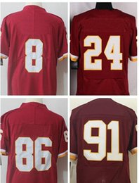 Wholesale Red Reeds - 8 Kirk Cousins Jersey 24 Josh Norman 91 Ryan Kerrigan 86 Jordan Reed Red Elite Game Legend Stitched Jerseys College Free Shippiing