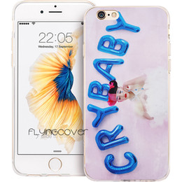 Wholesale Baby Iphone Cases - Melanie Martinez Cry Baby Clear Soft TPU Silicone Phone Cover for iPhone X 7 8 Plus 5S 5 SE 6 6S Plus 5C 4S 4 iPod Touch 6 5 Cases.