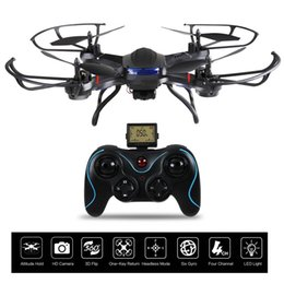 Wholesale Gyro Gopro - Quadcopter Drone with HD Camera RTF 4 Channel 2.4GHz 6 Gyro