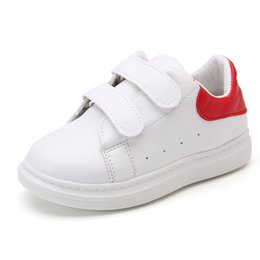 Wholesale Wholesalers For Cool Shoes - Large Sized - Fashion 2018 White Shoes for Boys and Girls Cool and Comfortable Sneakers Children Popular Athleisure Shoes