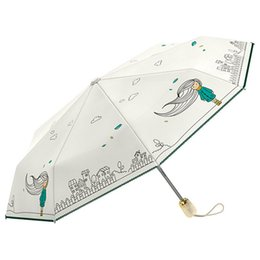 Pieghevole automatico ombrello pioggia donne forte 8K impermeabile anti UV Ombrelloni Paraguas Girls Guarda Chuva femminile cheap girl umbrella raining da ombrello ragazza che piove fornitori