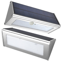 Wholesale Sensor Pack - Aluminum Alloy Housing Motion Sensor Wall Light Pack Mount Outdoor Led Solar Light for Garden, Patio, Pathway