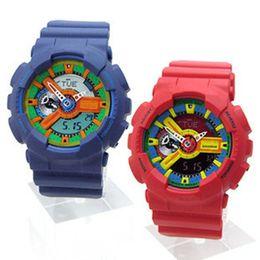 2019 водостойкие цветные женские часы 2018 AAA высокий кварц G стиль шок наручные часы мужчины новое прибытие Oudoor светодиодные часы для плавания цифровой аналоговый мужские многофункциональные спортивные часы