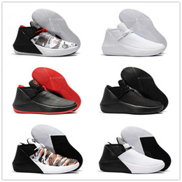 8b9a882ef5d 2018 Hot Sale Russell Westbrook 1 One Why Not Zer0.1 All White Black Red Basketball  Shoes 1s Men Athletic Sneakers Size 40-46