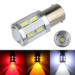 luz de marcha inversa led Desconto Venda quente S25 1157 1156 12 V 5630 12SMD + 1 PCS CREE auto lâmpada led carro freio de sinal de luz reversa