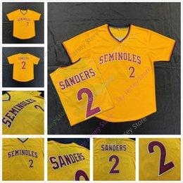 Дейон Сандерс штат Флорида Seminoles FSU Джерси Бейсбол NCAA колледж трикотажные изделия все сшитые размер S-5XL supplier baseball states от Поставщики бейсбольные штаты