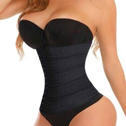 f3cc66180ea Corset Waist Trainer Hot Sexy Shapers Cincher Underbust Shapewear Slimming Fajas  Body Shaper Belt Fat Burne For Women