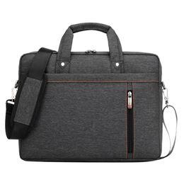 Wholesale Messenger Bag 13 Men - Black 13 15 14 17 Inch Waterproof Nylon Computer Laptop Notebook Tablet Bags Case sleeve Messenger Shoulder unisex men women