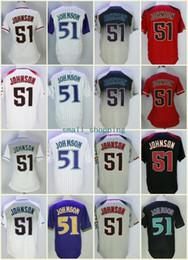 d93d6e54b27 Cheap Thrownback Randy Johnson Jersey 1999 Majestic 2001 Arizona 51 Randy  Johnson Cooperstown BP Stitched Baseball Jerseys