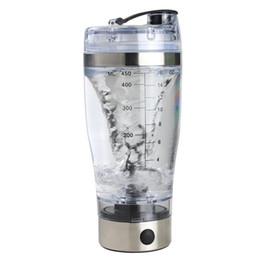 2019 bicchierino all'ingrosso dei bambini Il miscelatore portatile del movimento dell'agitatore automatico elettrico della proteina 450ml vortice tornado BPA libera la mia bottiglia di acqua libera il trasporto