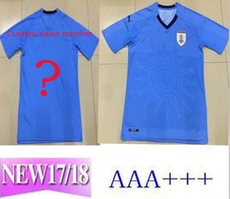 Wholesale Cheap Football Team Shirts - Best 2018 World Cup Soccer Jerseys club home uniforms for cheap Diego - Fran Suarez Football men Shirt printed team kits l mpada polyester