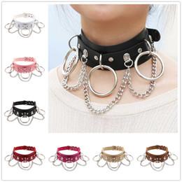 Halsketten für sex online-Sex übertrieben Haut Halskette Halskette Punk Street Beat Nacht O Kette Kette Kragen Hals CX598