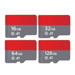 Wholesale High Speed 64gb Sd Card - 64GB 32GB 16GB Android Robot Free shipping high speed Class 10 64GB 32GB 16GB C10 Micro SD TF Memory Card with Adapter Retail Package