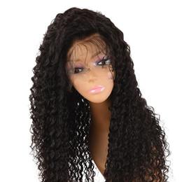 perruques de 6a classe Promotion 6A Grade Cheveux Brésiliens 150 Densité Longue Dentelle Front Perruque de Cheveux Humains Sans Colle Full Lace Perruques de Cheveux Humains Bouclés Pour Les Femmes Noires