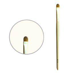 Brosse de portique en Ligne-6E05 pinceau de maquillage professionnel petite brosse ombre à paupières empaquetée manuellement résiliente naturel belettes pinceaux de maquillage
